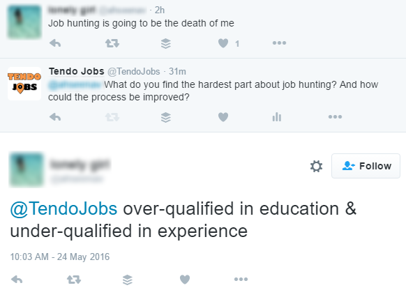 Challenges Job Hunters Face When Applying for Jobs - Twitter - 1