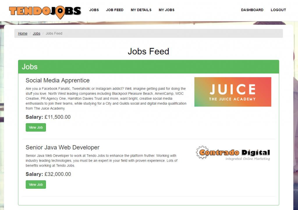 Job Hunter Jobs Feed