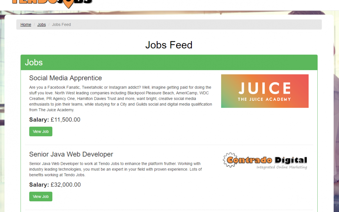 Introducing Jobs Feed to Follow Companies and Industries