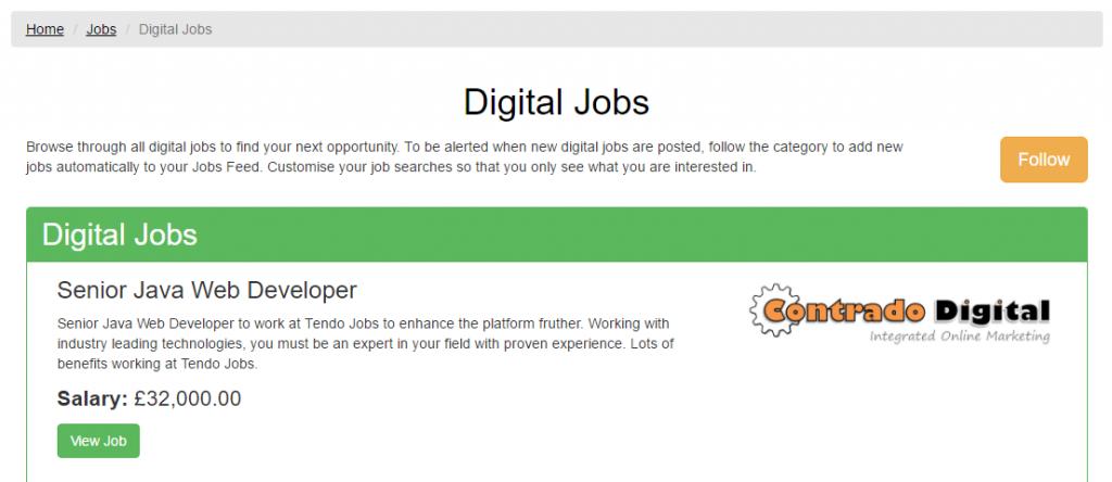 Jobs Feed Follow Industries