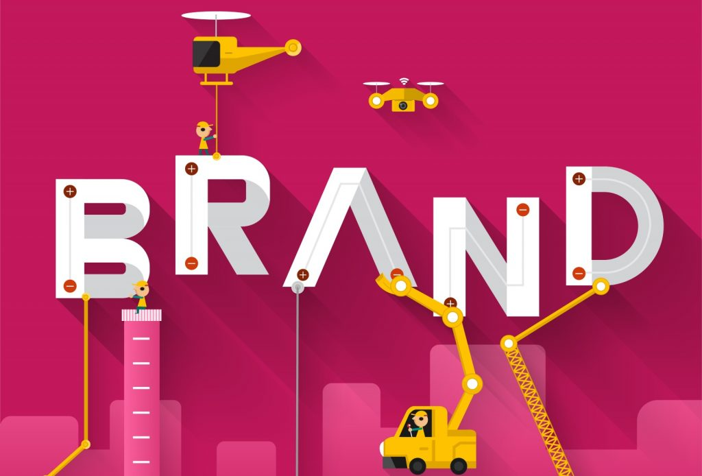 Building Your Employer Brand Online Illustration