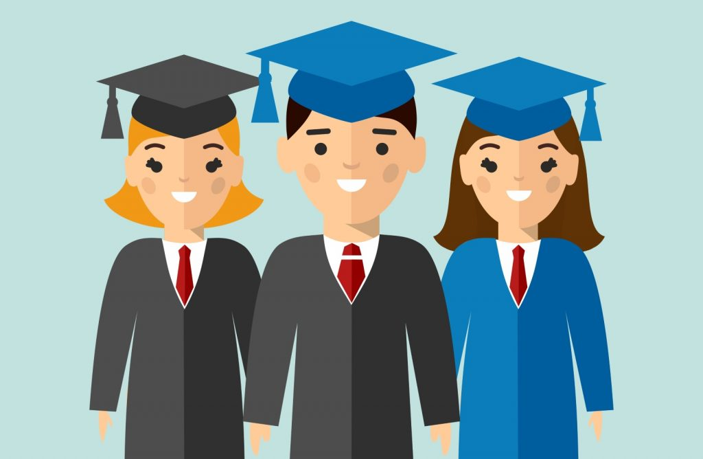 Graduates Are Waiting Illustration